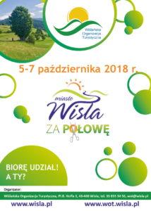 Wisla za połowę 2018 - plakat