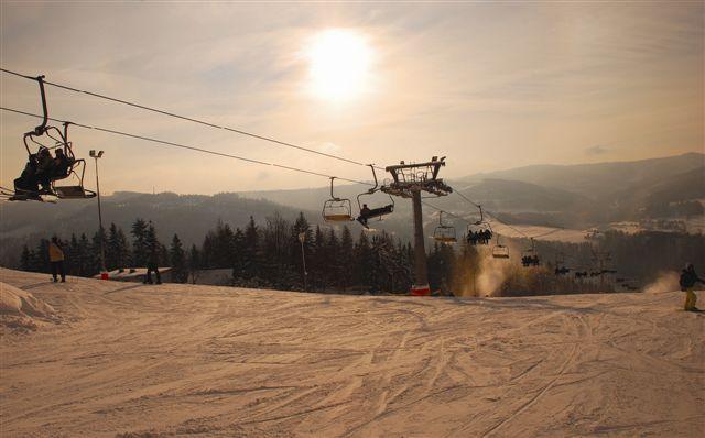 Nowa Osada kolej linowa wyciąg narciarski narty